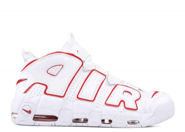 Thiết kế đỉnh cao của Air More Uptempo White Varsity Red