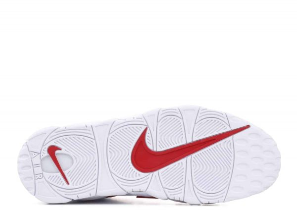 Mặt đế Air More Uptempo White Varsity Red
