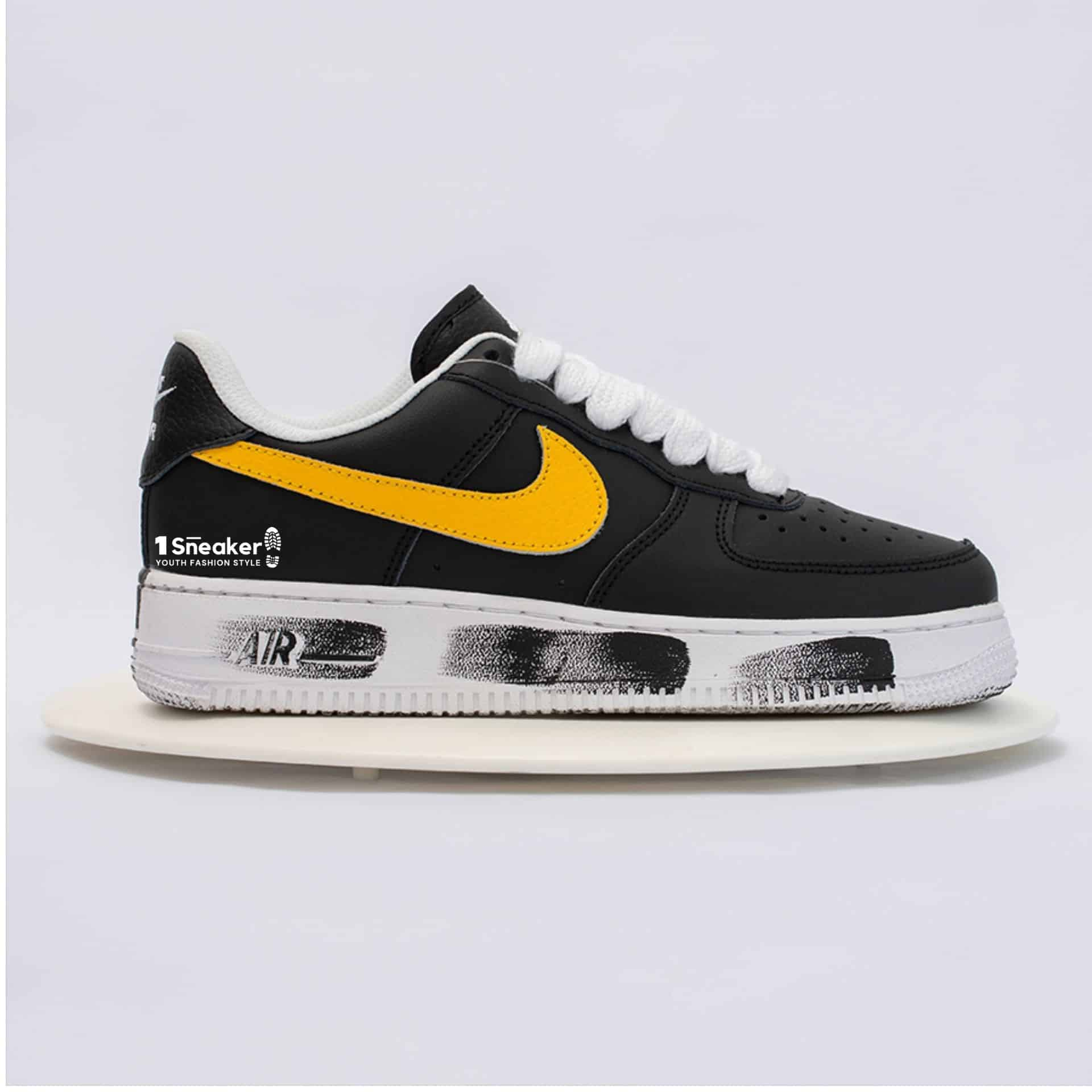 Air Force 1 Low G Dragon Peaceminusone Para Noise Yellow Swoosh Limited