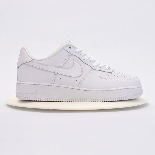 Air Force 1 Low GS Triple White 5