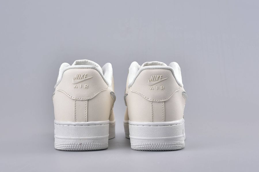 Gót giày Thể Thao Nike Air Force 1 Low Jelly Puff Pale Ivory