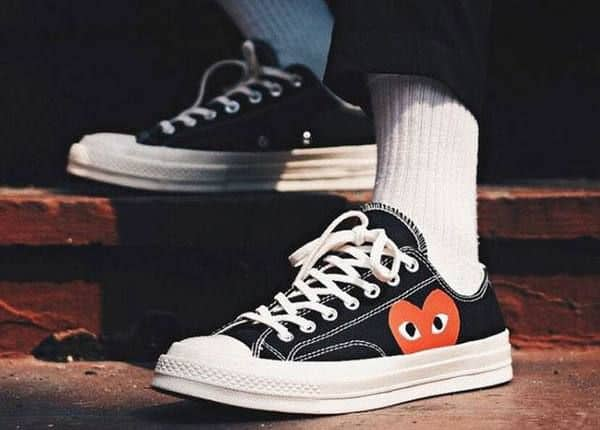 Converse Chuck Taylor All-Star 70s Ox Comme des Garcons PLAY Black (1970s CDG)