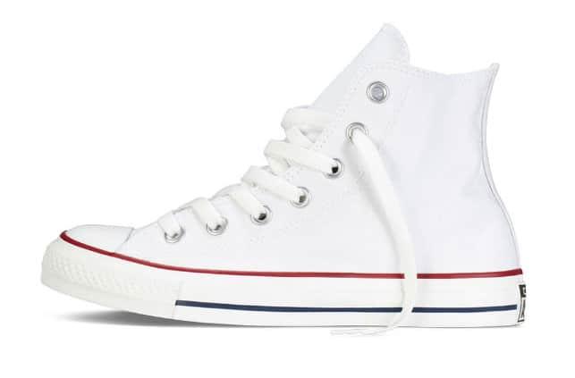 Giày Converse Chuck Taylor All Star High Top Optical White Rep 1:1 chất lượng