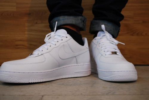 Nike Trắng Air Force 1 Low GS Triple White Rep 1:1 photo review