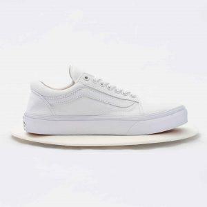 Giày Old Skool True White màu trắng