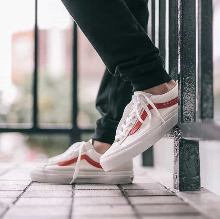 Giày Vans Style 36 Marshmallow Racing Red 1 4