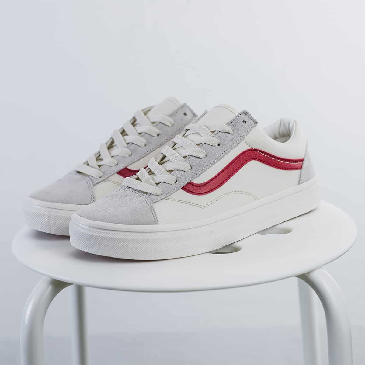 Giày Vans Style 36 Marshmallow Racing Red 1