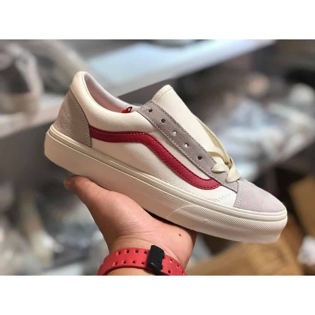Giày Vans Style 36 Marshmallow Racing Red 5