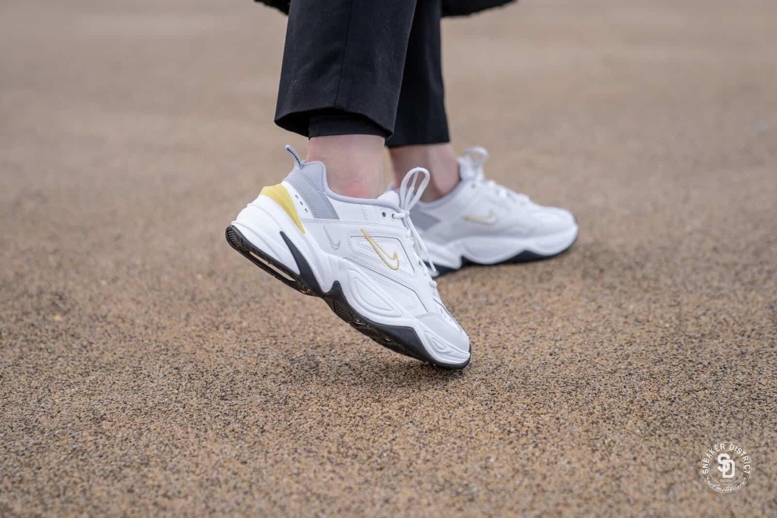 Nike M2K Tekno Platinum Tint Celery Wolf Grey 6 1600