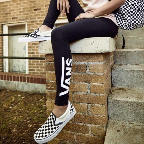 Vans Slip On Checkerboard Skate Shoe Black White 6