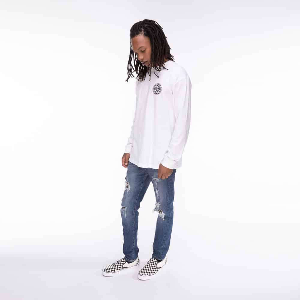 Vans Slip On Checkerboard Skate Shoe Black White 7