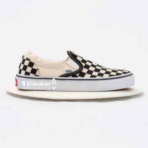 Vans Slip On Checkerboard Skate Shoe Black White 8