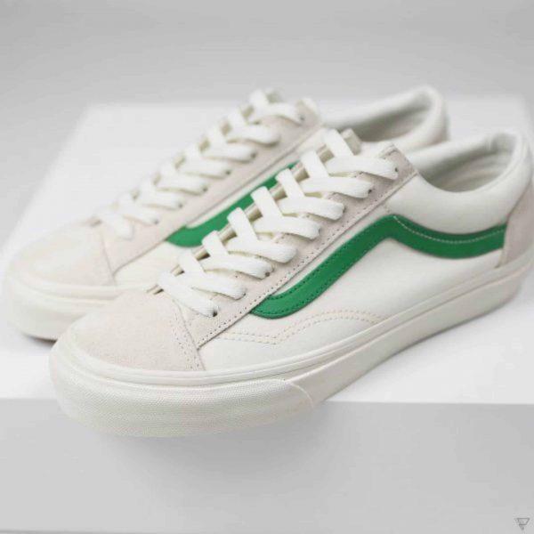 Vans Style 36 Marshmallow Jolly Green 1