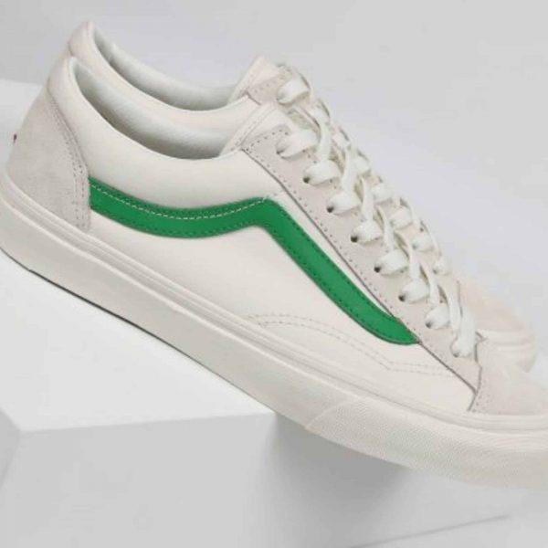 Vans Style 36 Marshmallow Jolly Green 3