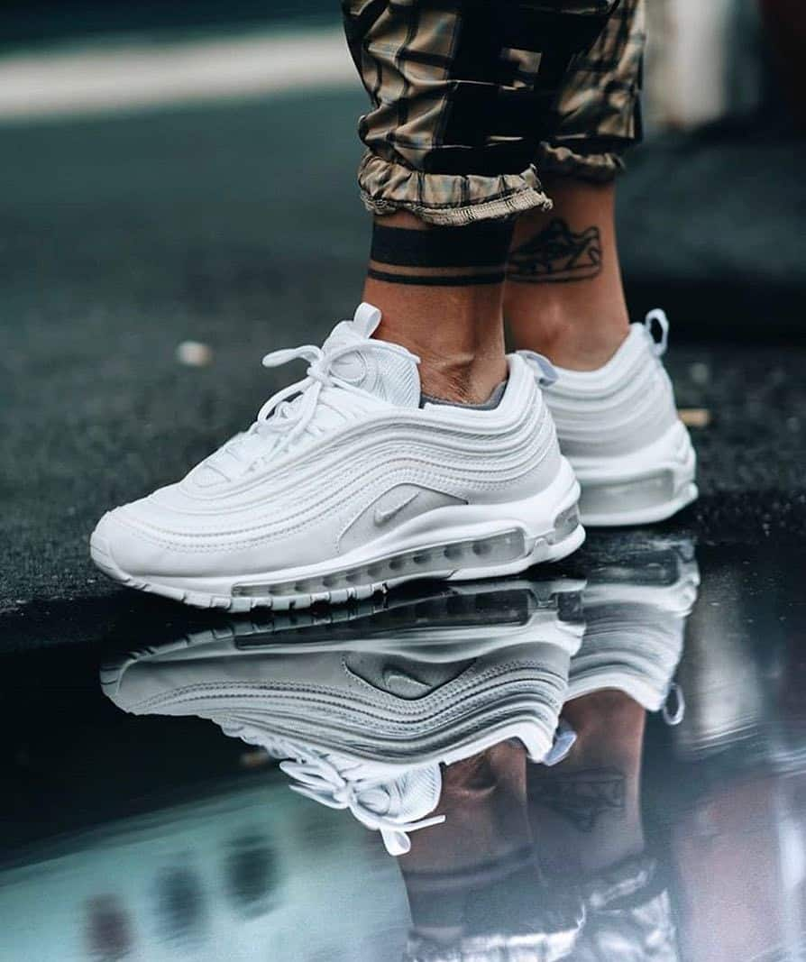 Giày Nike Air Max 97 màu trắng