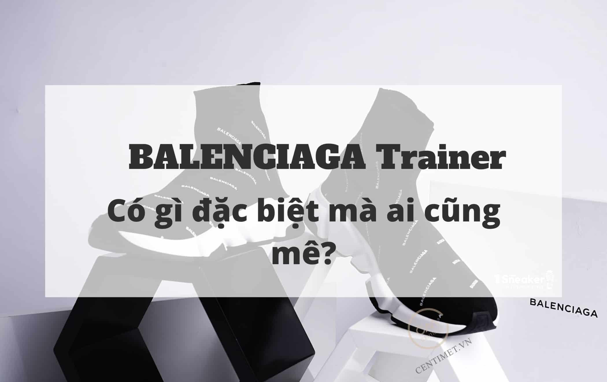BALENCIAGA Trainer