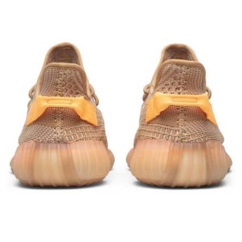 Giày thể thao Yeezy Boost 350 V2 Clay đủ màu mặt sau