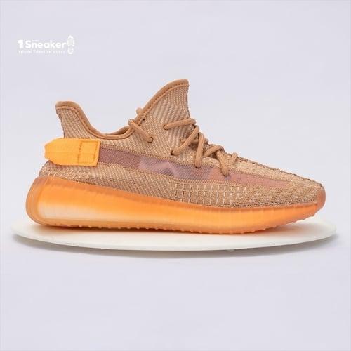 Giày thể thao Yeezy Boost 350 V2 Clay đủ màu mặt bên
