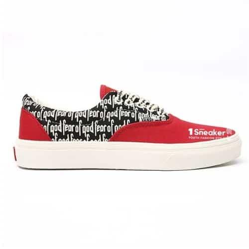 Giày van đỏ đến từ nhà Era 95Dx collab với Fear Of God