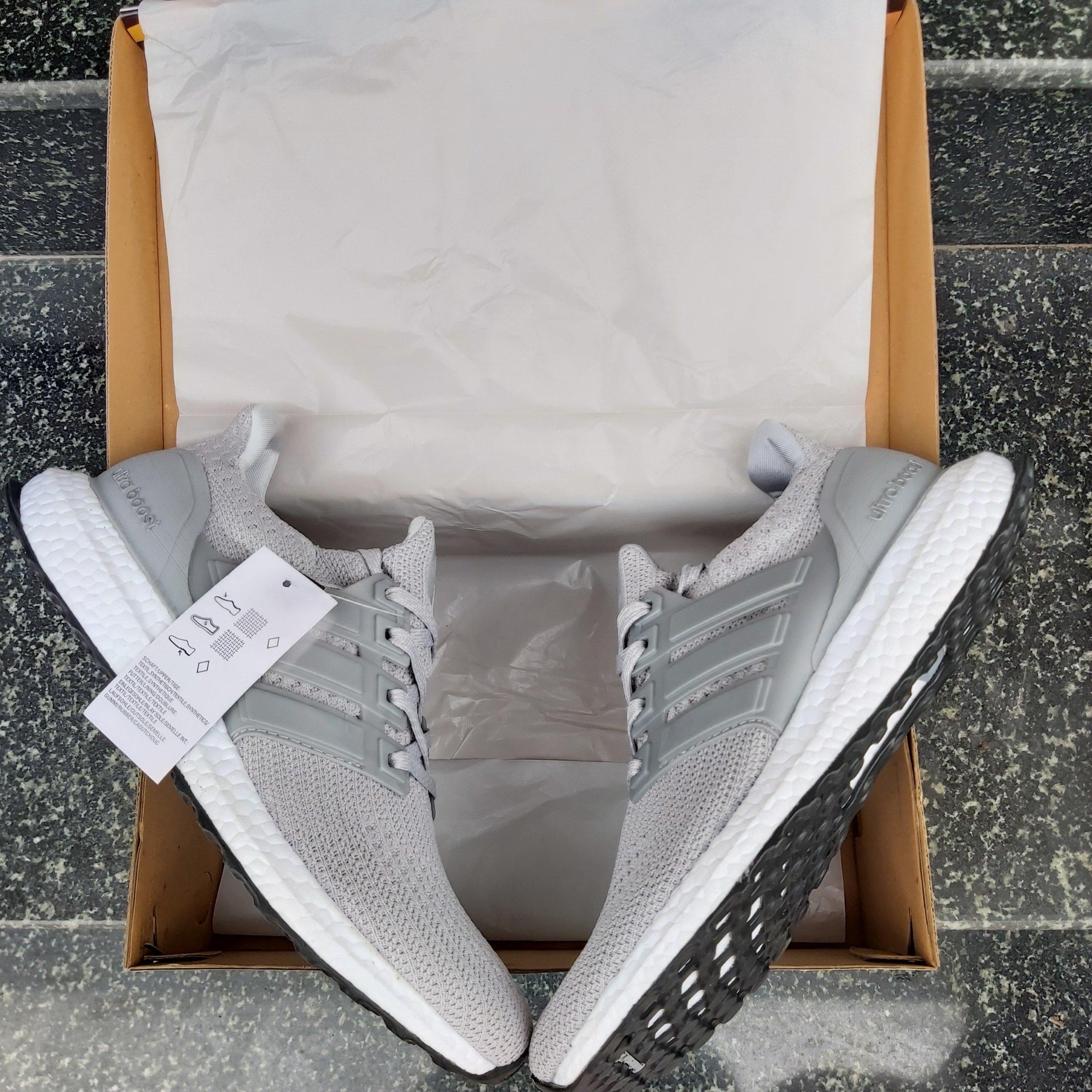 Giày thể thao Ultra Boost 4.0 Grey Three hàng rep 11 giá rẻ