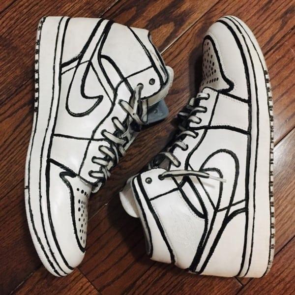 Sản phẩm giày sau khi được custom sẽ thể hiện cá tính của chủ nhân