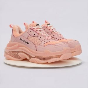 Triple S Clear Sole Pink 2