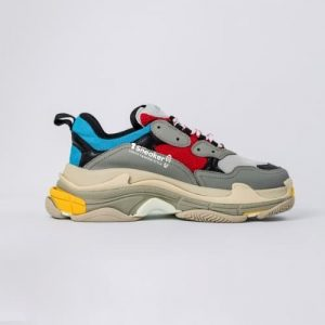 Triple S Trainer Blue Red 2018 1