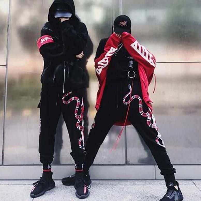 Urban streetwear phong cách thời trang đường phố