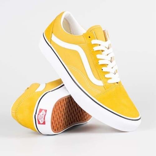 Vans Old Skool yellow là mẫu Vans đẹp và hot nhất hiện nay