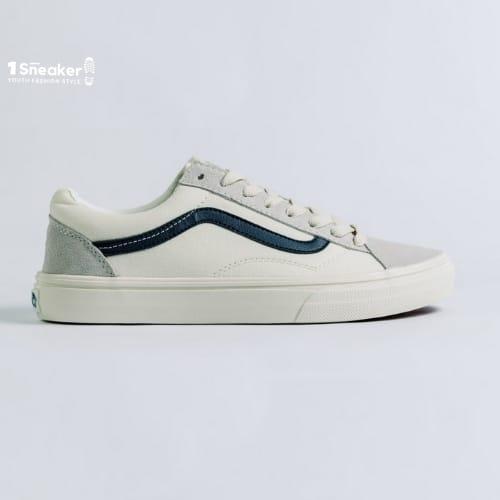 Vans Style 36 Marshmallow Blue – Dòng giày Vans nam trắng