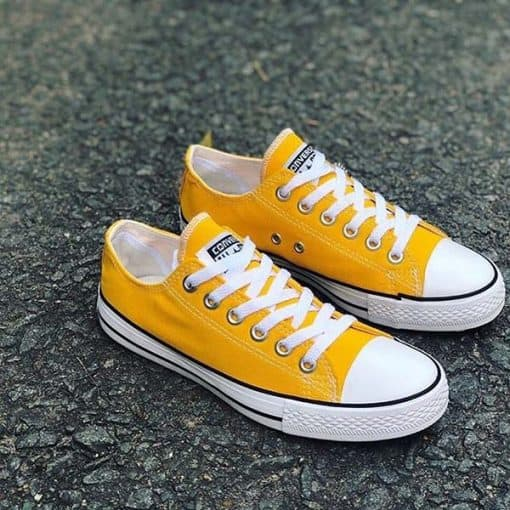 Cach that day giay Converse co thap