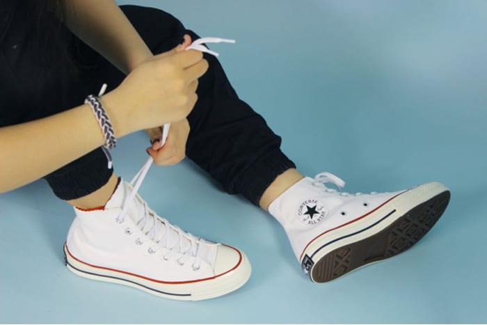 Giày thể thao converse trắng