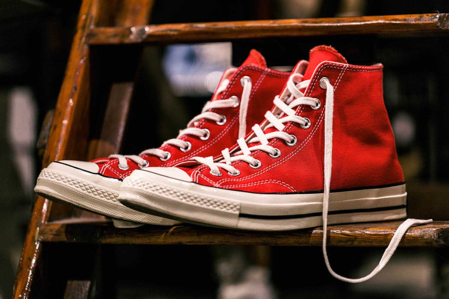 Converse 1970s red