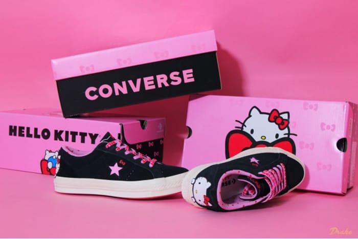Converse X Hello Kitty One Star 1