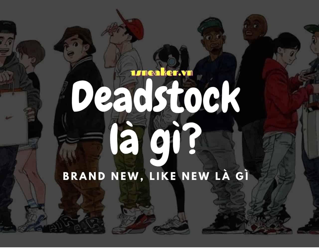 Deadstock la gi Brand new Like New la gi
