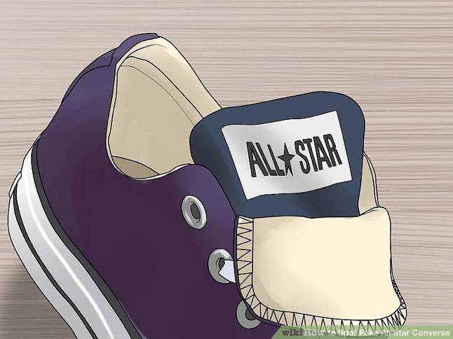 Logo All star o luoi ga giay Converse