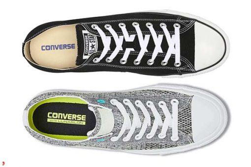 Lot giay sac net cua Converse real