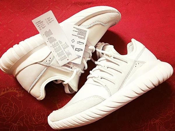 Tag giay Adidas real