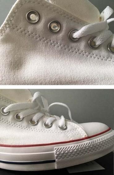 Form giày Converse Auth chắc chắn và chất liệu vải rõ nét