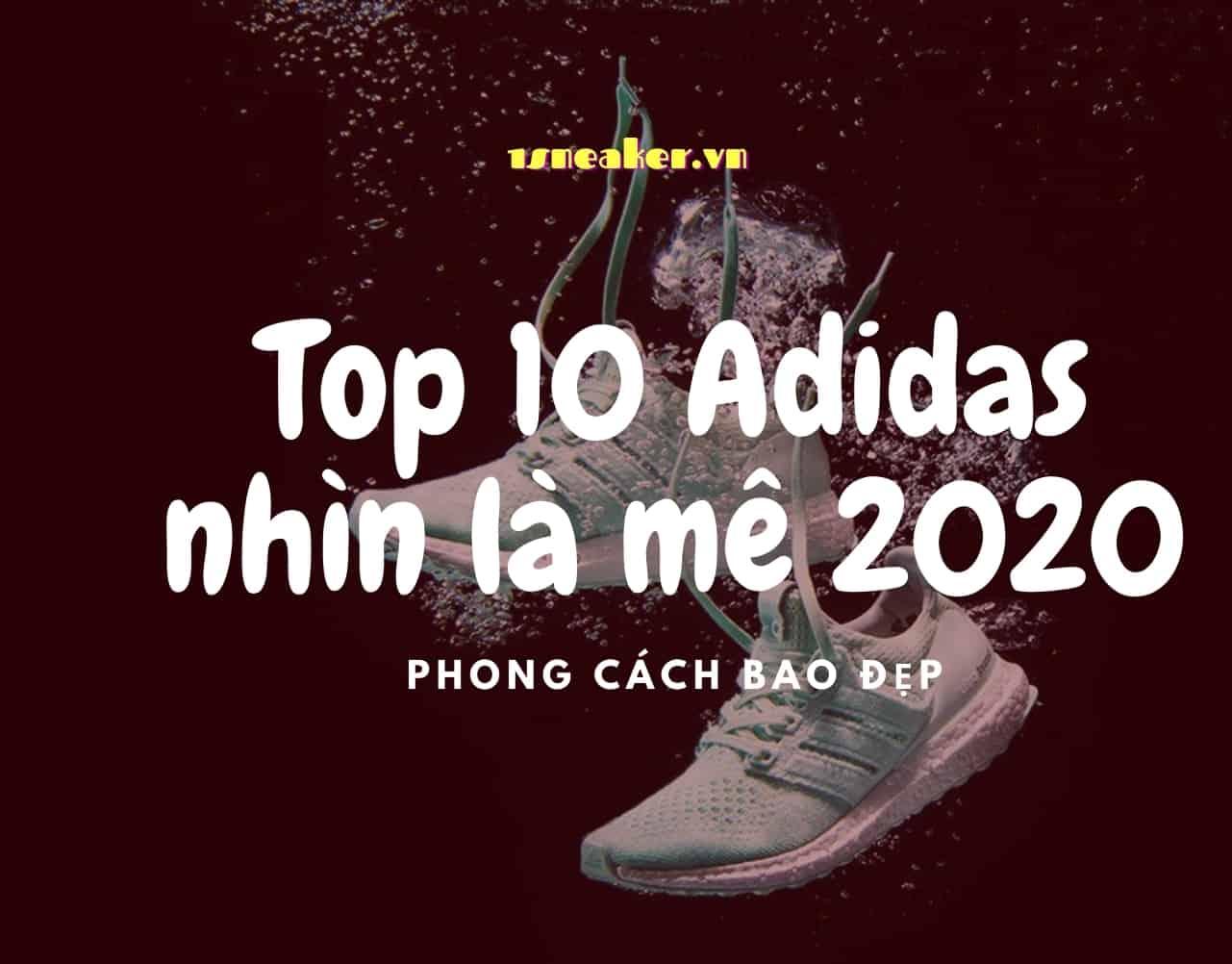 nhung doi giay sneaker adidas dep nhat