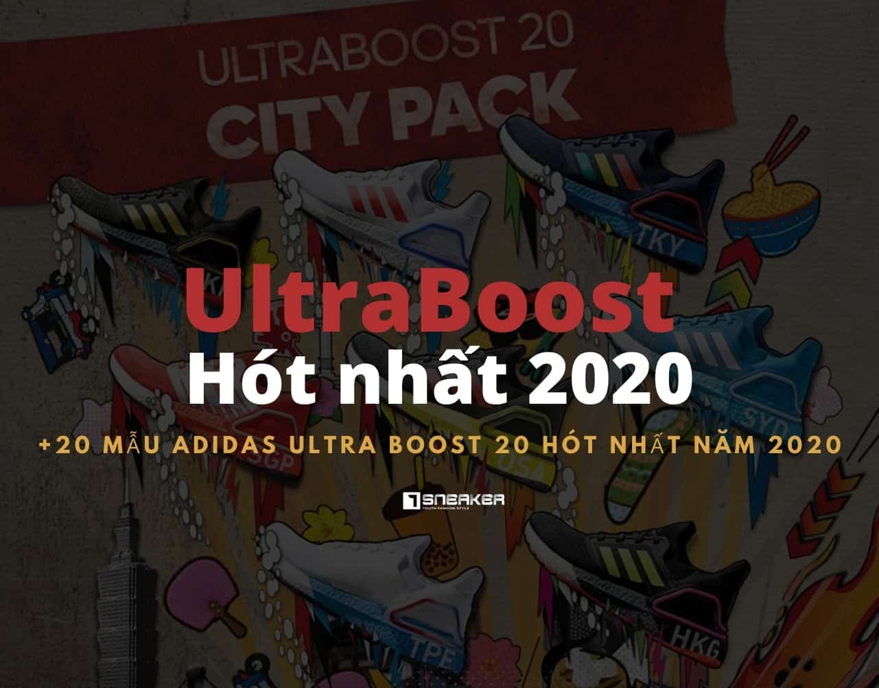 20 MAU ADIDAS ULTRA BOOST 20 hot nhat nam 2020