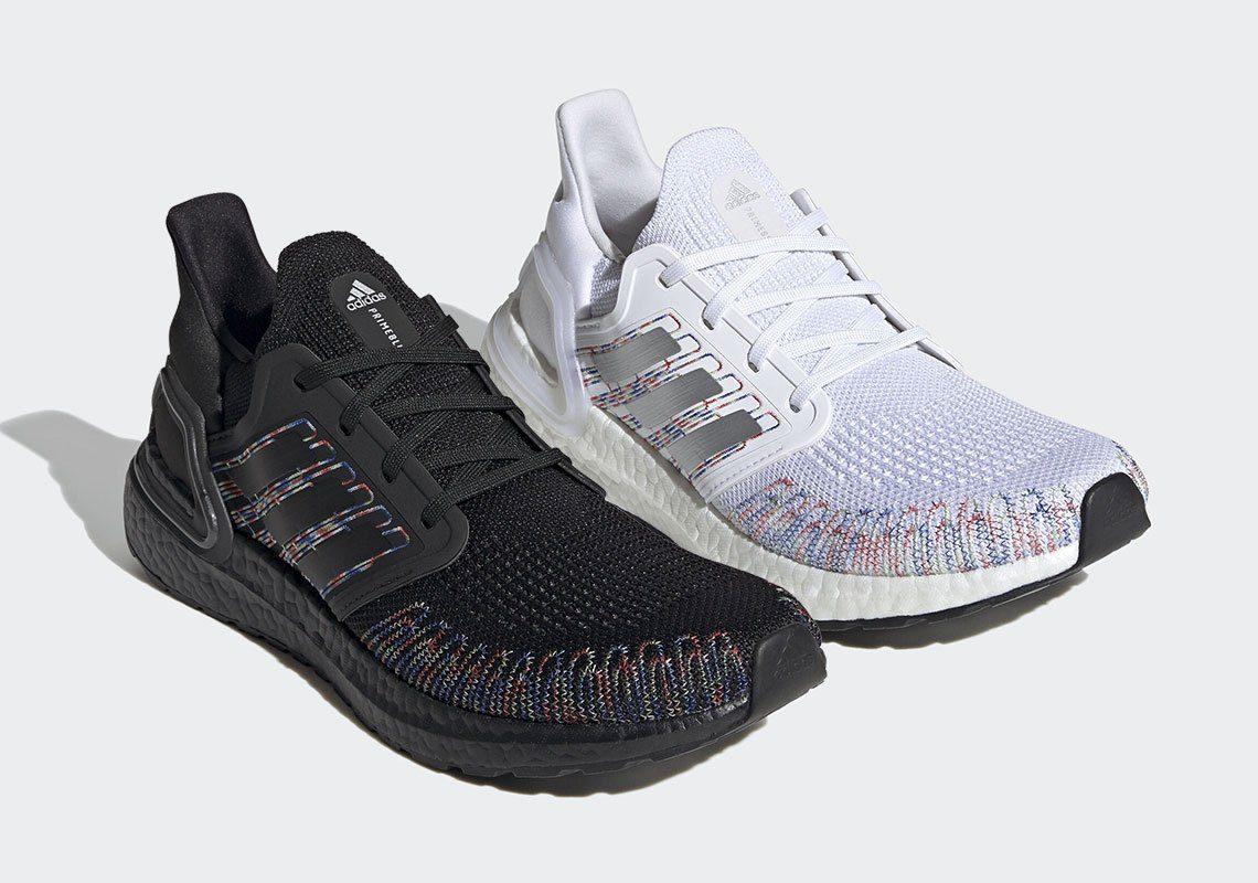 Adidas Ultra Boost 20 Multi colored doc dao