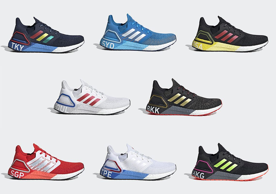 Ultra Boost 20 City Pack