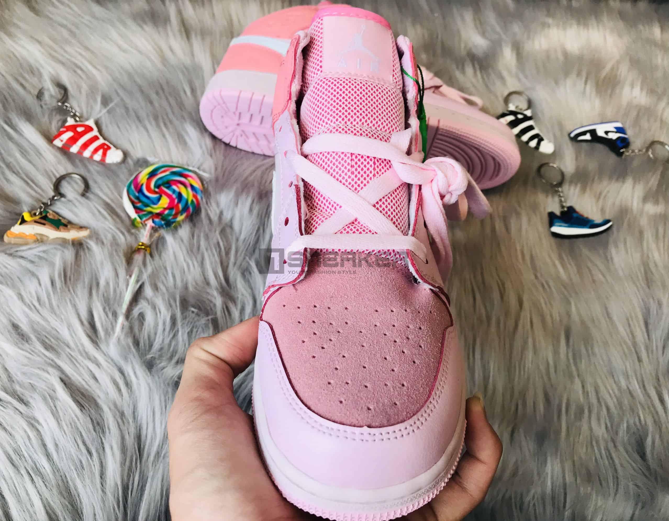 Giày Nike Air Jordan 1 Digital Pink