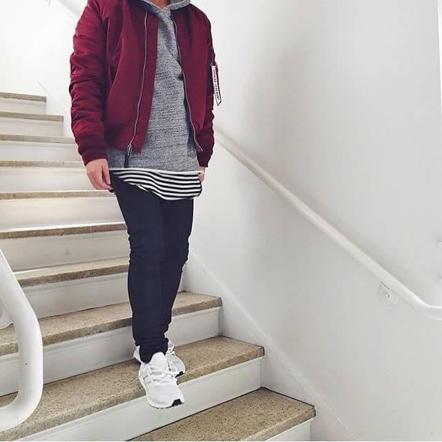 Ao hoodie jean rach 1 phong cach khong moi nhung la