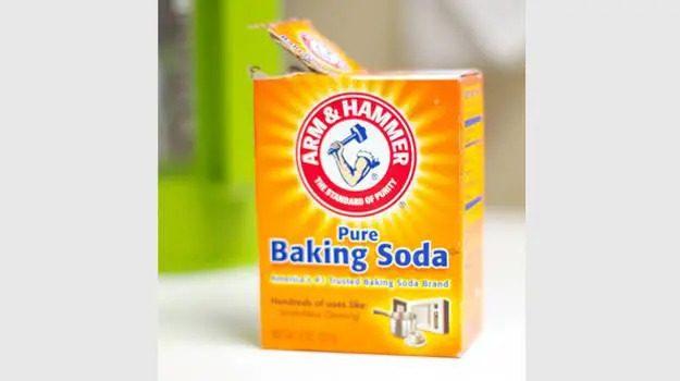 Dung baking soda