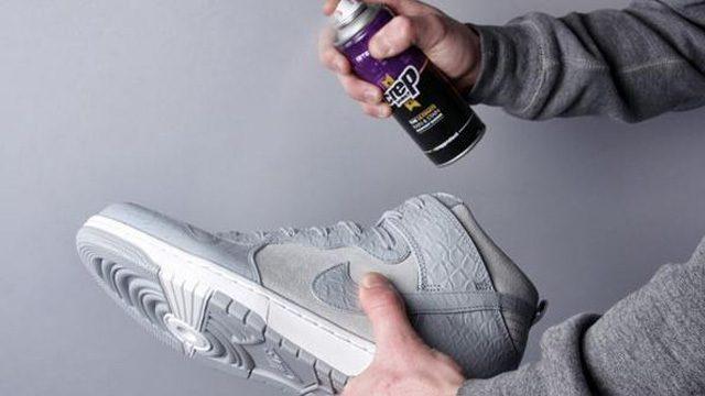 Dung dich nano chong tham giay sneaker vai luoi va canvas