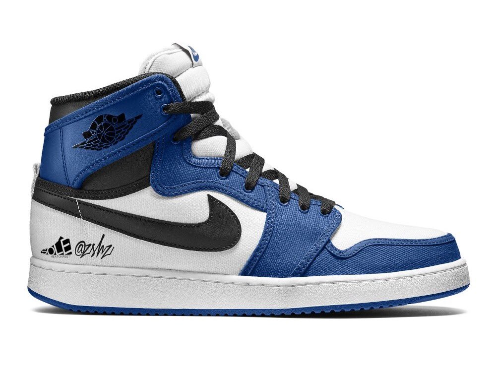 Air Jordan 1 AJKO Storm Blue 2