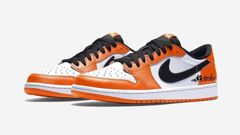Air Jordan 1 Low Orange 3