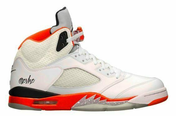 Air Jordan 5 Total Orange 35